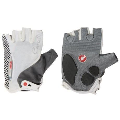 Castelli Rosso Corsa Bike Gloves Fingerless (For Women)