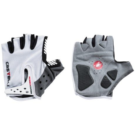 Castelli S. Rosso Corsa Bike Gloves Fingerless (For Men)