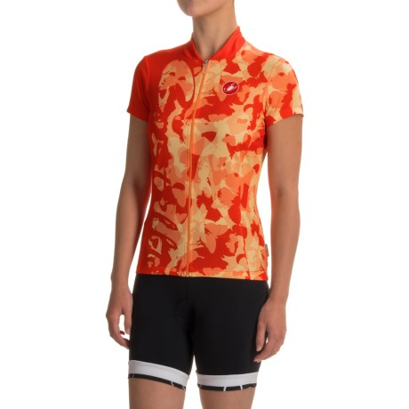 Castelli Sentimento Cycling Jersey - Full Zip (For Women)