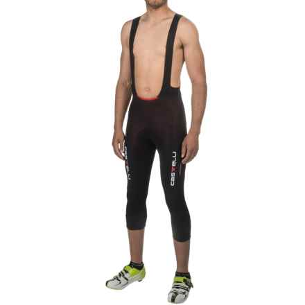 Castelli Sorpasso Bib Knickers (For Men) in Black/Black - Closeouts