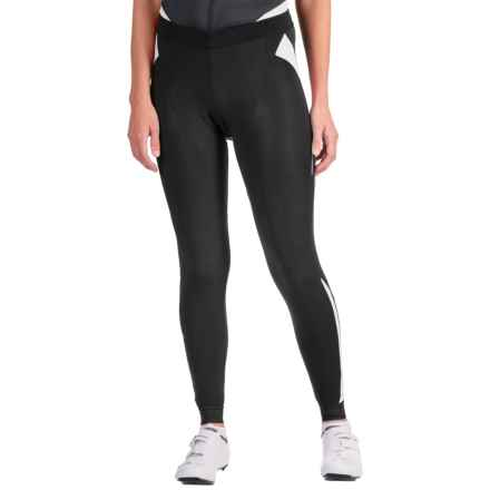 Castelli Sorpasso Cycling Tights (For Women) in Black/White - Closeouts