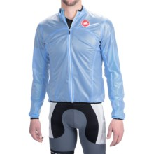Castelli Sottile Due Cycling Jacket (For Men) in Drive Blue - Closeouts