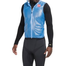 Castelli Sottile Due Cycling Vest (For Men) in Drive Blue - Closeouts