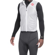 Castelli Sottile Due Cycling Vest (For Men) in Transparent White - Closeouts