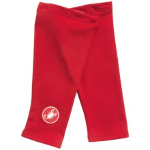 Castelli Thermoflex Cycling Knee Warmers (For Men) in Red - Closeouts