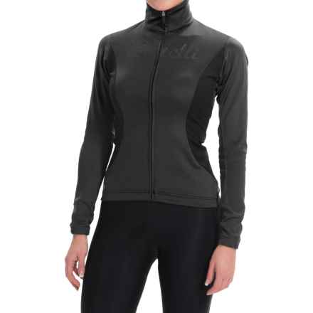 Castelli Trasparente 2 Windstopper® Cycling Jersey - Full Zip, Long Sleeve (For Women) in Black - Closeouts