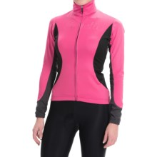 Castelli Trasparente 2 Windstopper® Cycling Jersey - Full Zip, Long Sleeve (For Women) in Raspberry - Closeouts