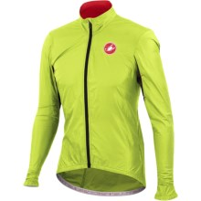 Castelli Velo Cycling Jacket (For Men) in Lime - Closeouts