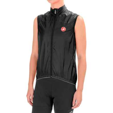 Castelli Velo Cycling Vest (For Women) in Black - Closeouts