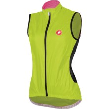Castelli Velo Cycling Vest (For Women) in Lime - Closeouts