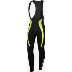 Castelli Velocissimo Bib Tights (For Men) in Black/Green Fluo