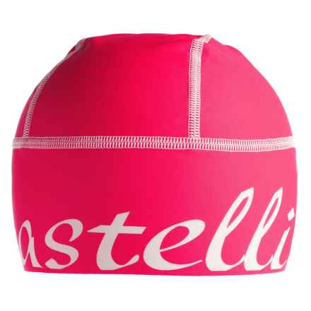 Castelli Viva Donna Skully Cap (For Women) in Raspberry - Closeouts