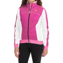 Castelli Viziata Windstopper® Cycling Jacket (For Women) in Magenta/White - Closeouts