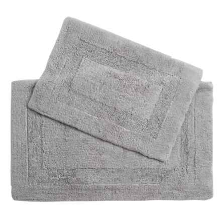 Castile Home Textiles Malta Bath Rugs - 2-Pack, Egyptian Cotton in Seagull - Overstock