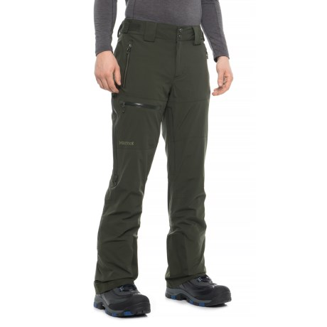 Castle Peak Polartec(R) Ski Pants - Waterproof, Insulated (For Men) - ROSIN GREEN (XL )