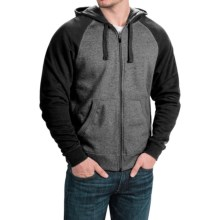 Casual Hoodie (For Men) in Charcoal Heather/Black - 2nds