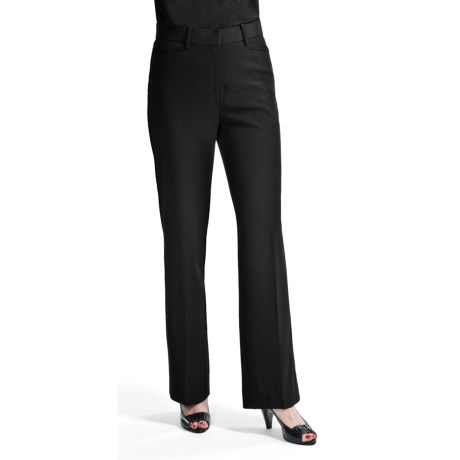 Casual Studio Dress Pants - Easy Care (For Women) in Black