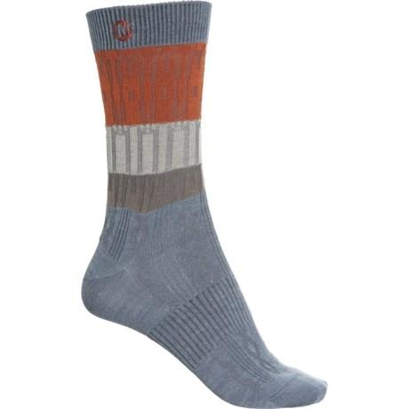 Casual Textured Socks - Merino Wool, Crew (For Women) - LIGHT BLUE (S/M ) -  Merrell