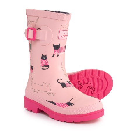 Image of Cat Welly Rain Boots - Waterproof (For Girls)