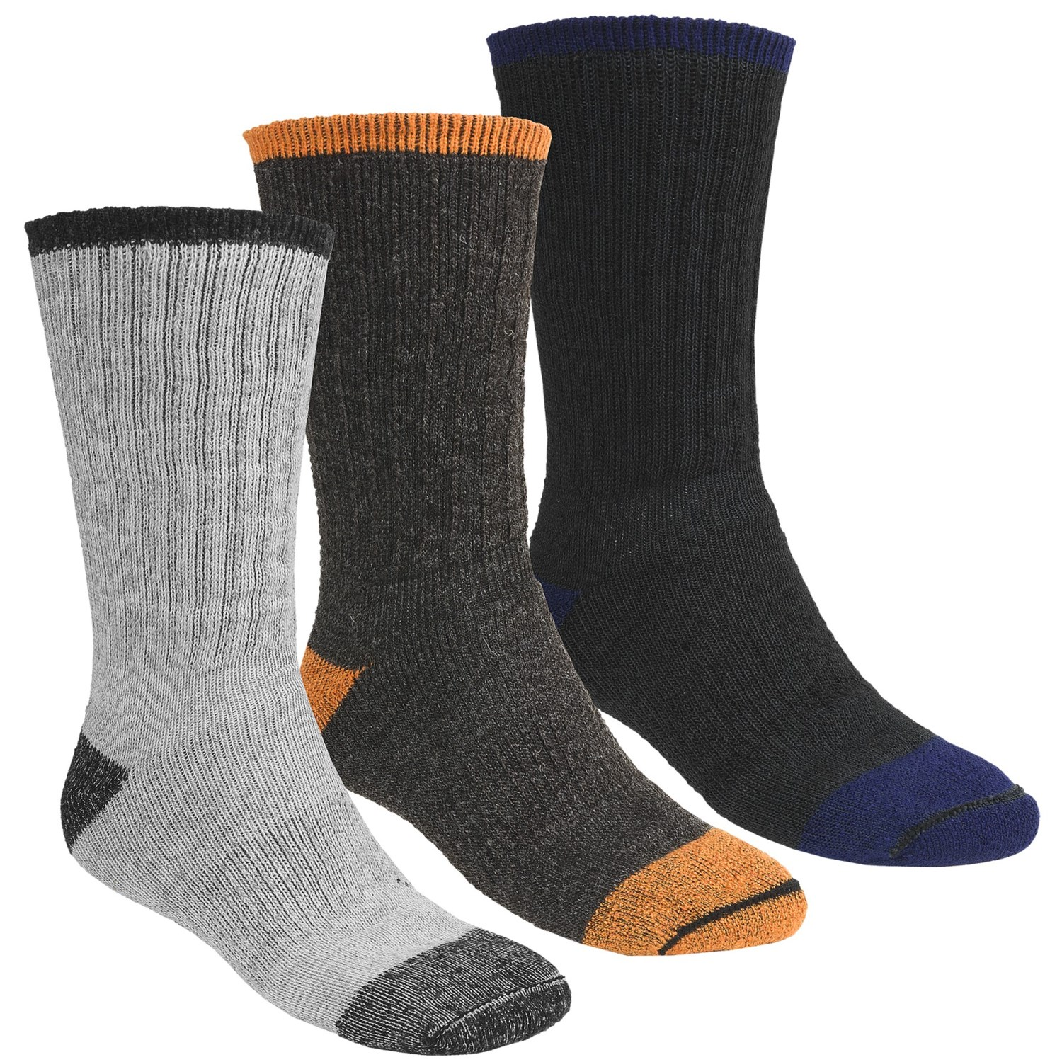 These thick socks are made of 85% Merino wool for incredible warmth in severely cold conditions. The anti-microbial and moisture-wicking properties eliminate unpleasant odors and wick away sweat to keep your feet fresh and dry all day long.5/5(2).