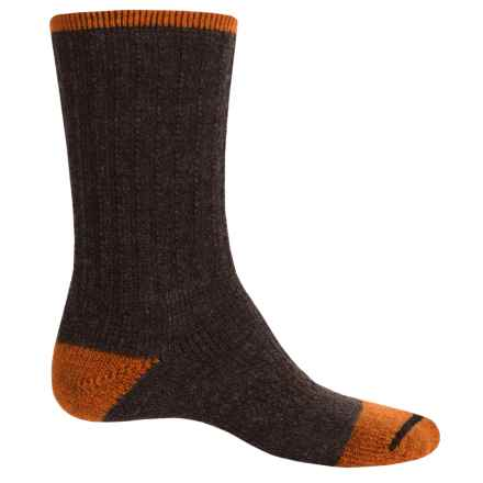 Catawba Terry Boot Socks - Crew (For Men and Women) in Orange/Brown - Closeouts