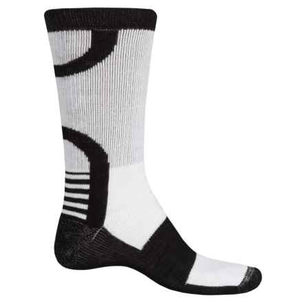 Catawba Ultimate Work Socks - Crew (For Men) in Black/Naturalural/Black - Closeouts