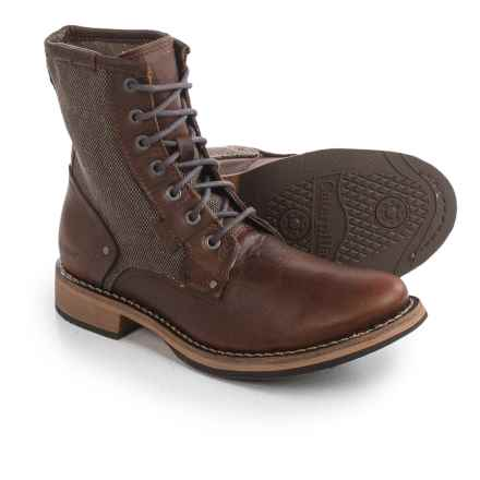 Caterpillar Abe Boots - Leather (For Men) in Peanut - Closeouts