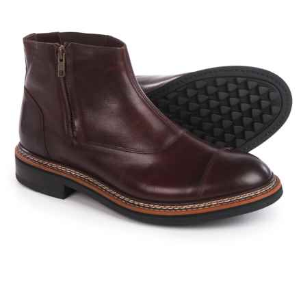 Caterpillar Adner Boots - Leather (For Men) in Burgundy - Closeouts