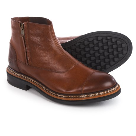 Caterpillar Adner Boots - Leather (For Men) in Rust