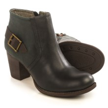Caterpillar Annette Short Ankle Boots - Leather (For Women) in Black - Closeouts