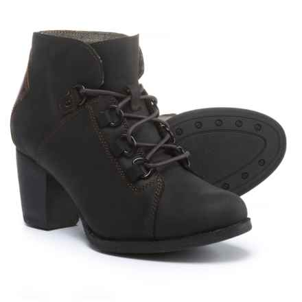 Caterpillar Arbor Ankle Boots - Waterproof, Nubuck (For Women) in Black/Tawny - Closeouts