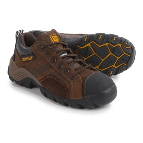 Caterpillar Argon Work Shoes - Composite Safety Toe (For Women) in Dark Brown