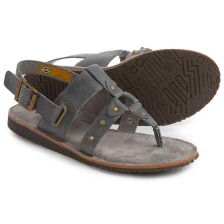 Caterpillar Birdsong Strappy Sandals (For Women) in Grey - Closeouts