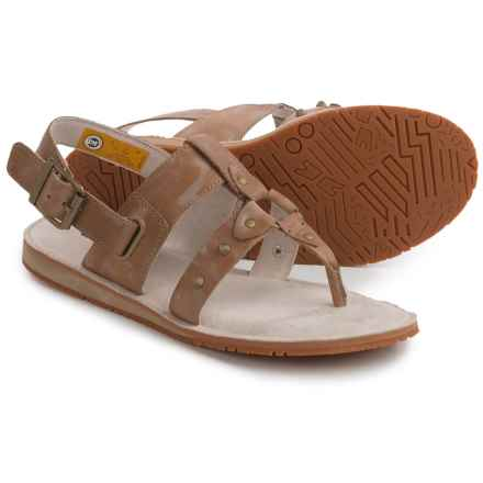 Caterpillar Birdsong Strappy Sandals (For Women) in Light Brown - Closeouts