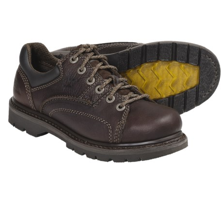 Caterpillar Blackbriar Shoes - Full-Grain Leather (For Women) in Bark