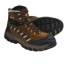 Caterpillar Cat Sensor Hi Steel Toe Boots (For Men) in Brown/Peat - Closeouts