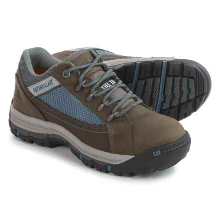 Caterpillar Champ Work Shoes - Steel Toe (For Women) in Dark Gull Grey - Closeouts