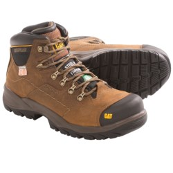 Caterpillar Coolant C.S.A. Steel Toe Boots (For Men) in Brown