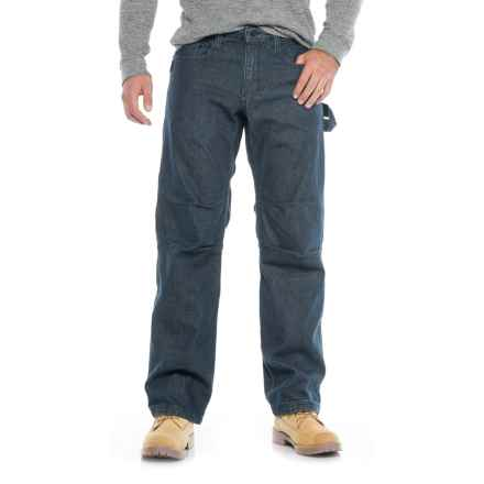 Caterpillar Cordura® Work Tough Jeans (For Men) in Rinsed Denim - Closeouts