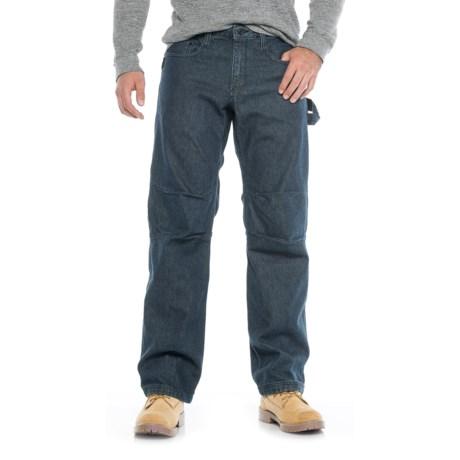 Caterpillar Cordura® Work Tough Jeans (For Men) in Rinsed Denim
