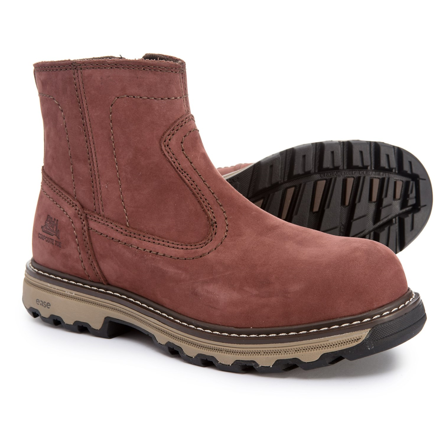 db05c14b0da Caterpillar Fragment Work Boots - Composite Safety Toe, Leather (For Women)