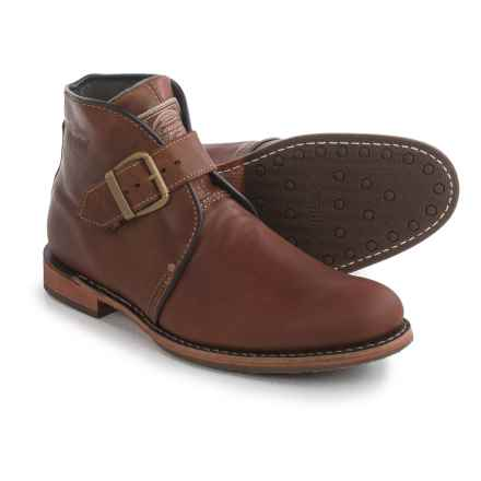 Caterpillar Haverhill Chukka Boots - Leather, Slip-Ons (For Men) in Bagpipe - Closeouts