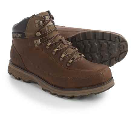 Caterpillar Highbury Boots - Leather (For Men) in Desert - Closeouts