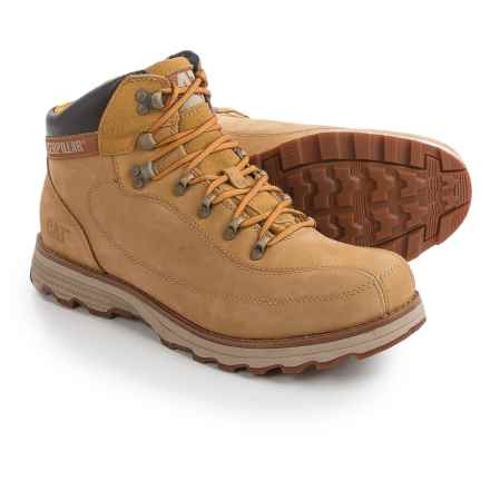 Caterpillar Highbury Boots - Leather (For Men) in Honey - Closeouts