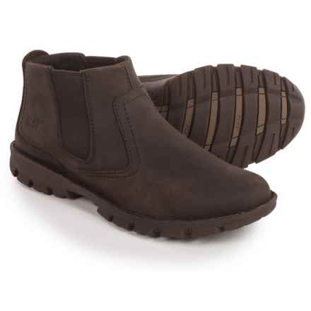 Caterpillar Hoffman Boots - Leather (For Men) in Black Coffee - Closeouts