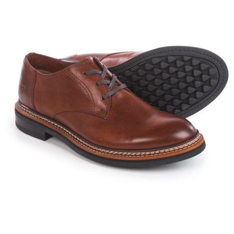 Caterpillar Hyde Oxford Shoes - Leather (For Men) in Rust