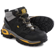 Caterpillar Interface Hi Work Boots - Steel Toe (For Men) in Black - Closeouts