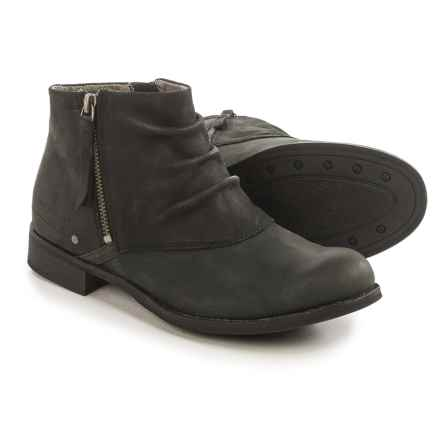 Caterpillar Irenea Ankle Boots - Leather (For Women) in Black - Closeouts