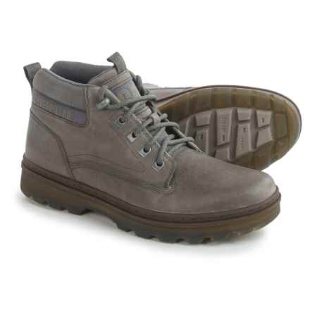 Caterpillar Knox Mid Boots - Nubuck (For Men) in Iron - Closeouts