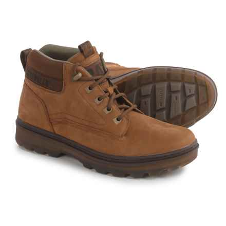 Caterpillar Knox Mid Boots - Nubuck (For Men) in Tater - Closeouts